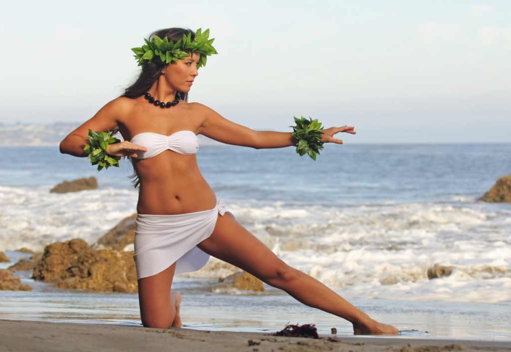 Paradise Cove luau right on the beach