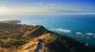 Ocean view from Diamond Head. Oahu, Hawaii.