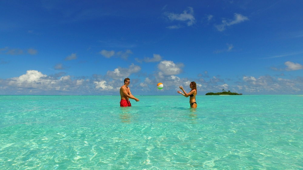 A day at the sandbar makes for a perfect day in paradise