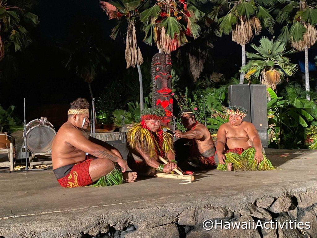 Fire at the Chief's Luau