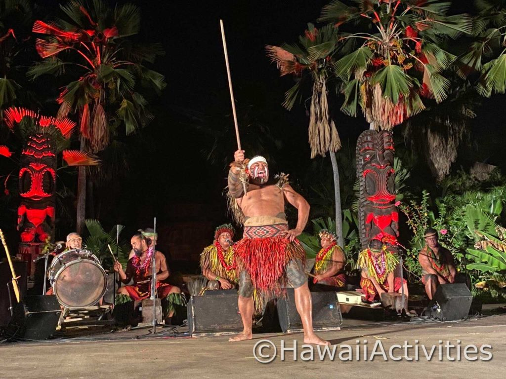 Performer at Chief's Luau