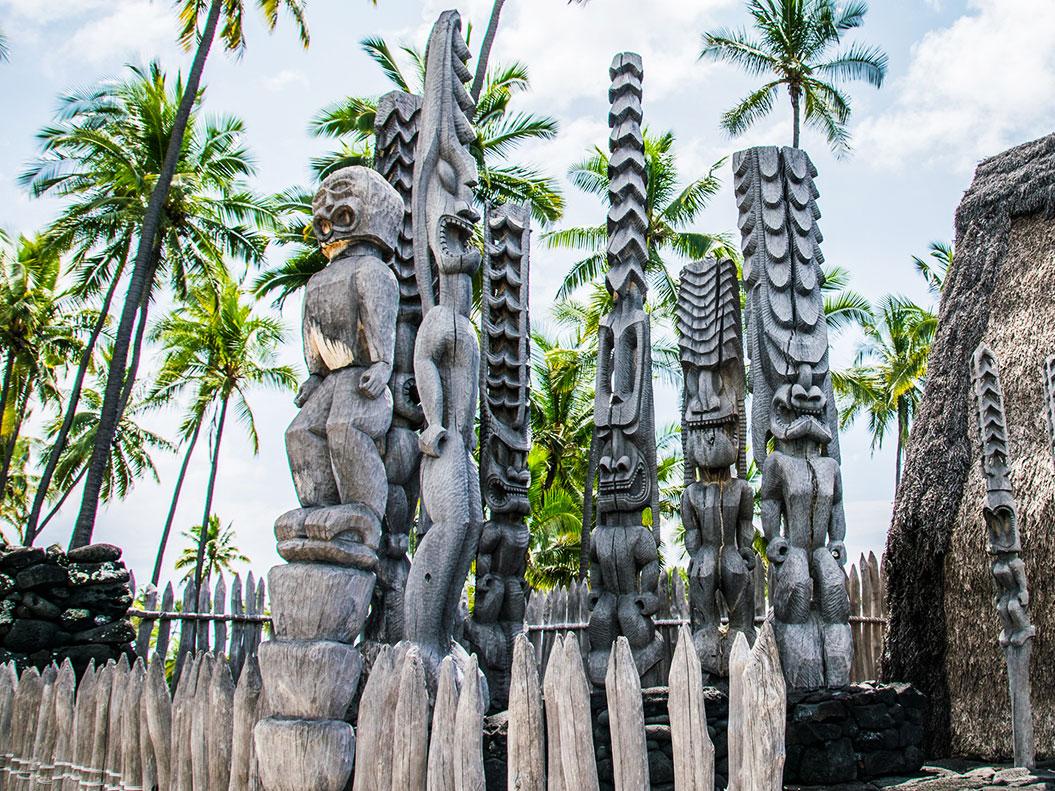 """Puuhonua O Honaunau, """"Place of Refuge"""" on the Big Island"""
